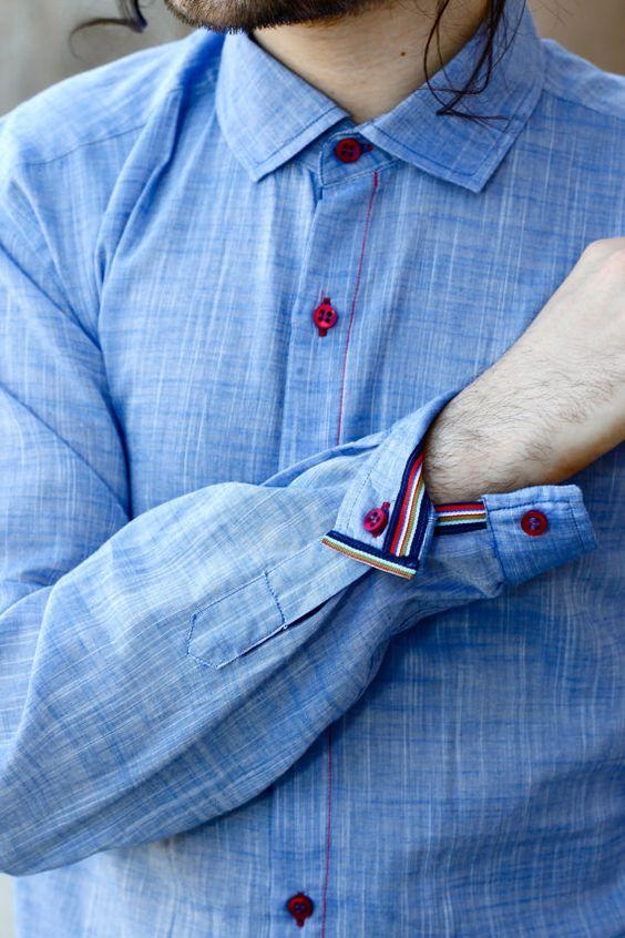 Výběr pánských košil podle typu límce a manžet