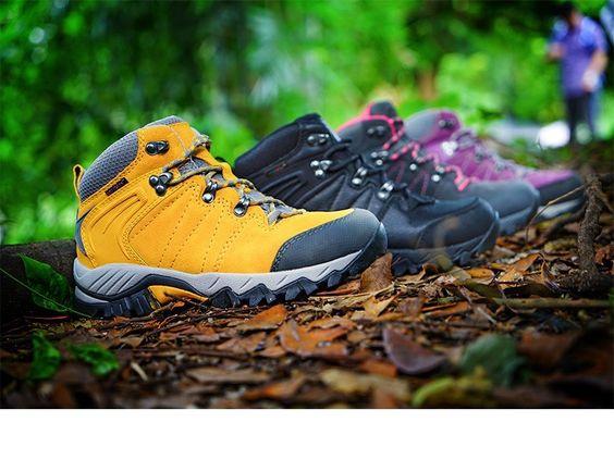 Základ turistického vybavení - vhodné boty