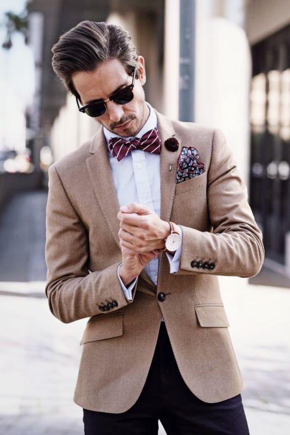 Svatební motýlek nebo kravatu?