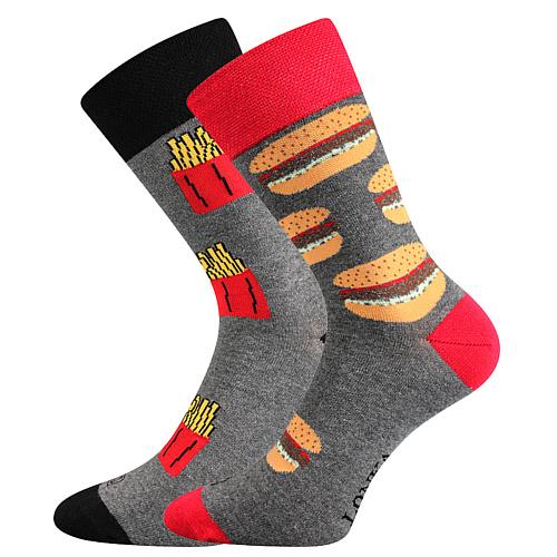 Vtipné ponožky vám vykouzlí na tváři úsměv